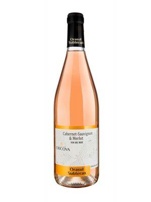 Cricova Vin Rose Sec Orasul Subteran 0.75L