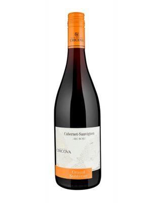 Cricova Vin Rosu Sec Orasul Subteran Cabernet Sauvignon 0.75L