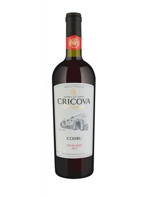 Cricova Vin Rosu Sec Prestige Codru 0.75L