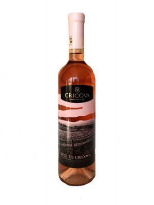 Cricova Vin Rose Demisec 2 bucati X 0.75L