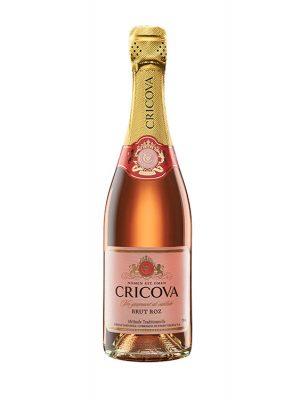 CRICOVA Spumant Clasic rose brut 0.75L