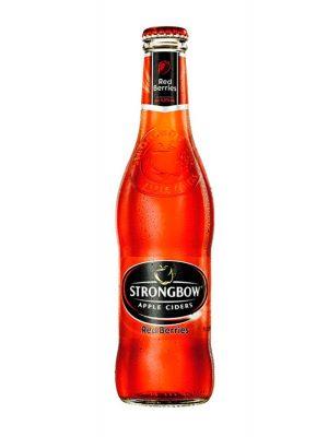 Strongbow Cidru Red Berries sticla 0.33L X 6 bucati
