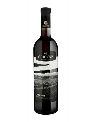 Cricova Vin Rosu Demisec Cabernet Sauvignon 2 bucati X 0.75L