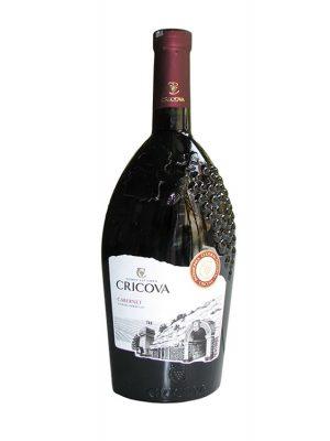 Cricova Vin Rosu Podgoria Cabernet 2 BUCATI X 0.75L
