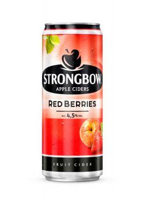 Strongbow Cidru Red Berries doza 0.33L X 6 bucati