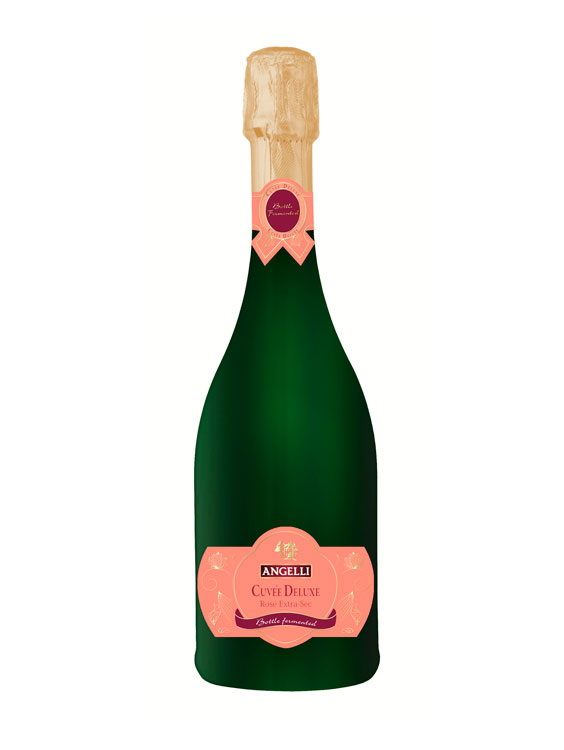 Angelli Vin Spumant Cuvee Deluxe Rose Extra-sec 0.75L