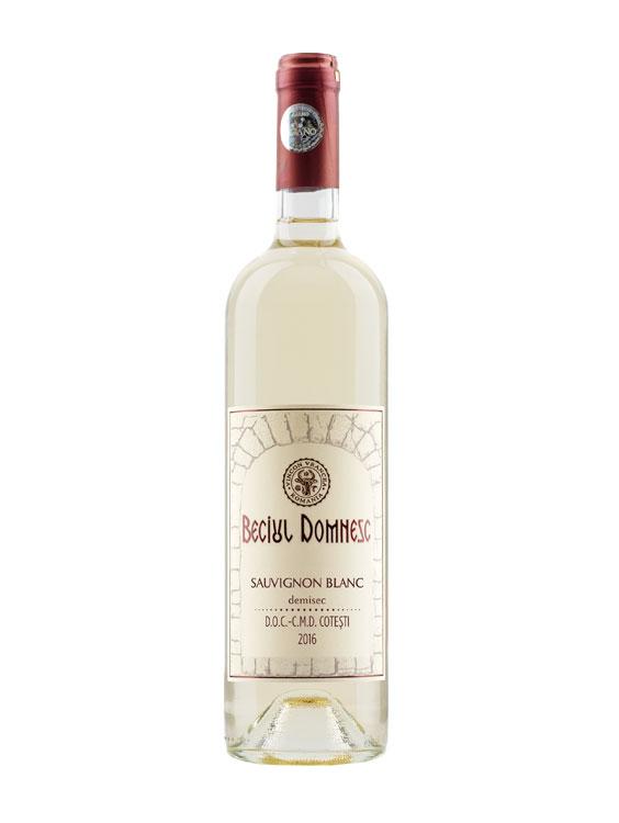 Vincon Vin Alb Beciul Domnesc Sauvignon Blanc 2 bucati X 0.75L