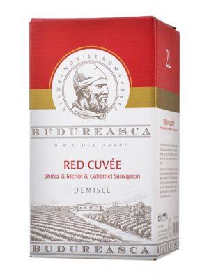 Budureasca Vin Rosu Red Cuvee 2L