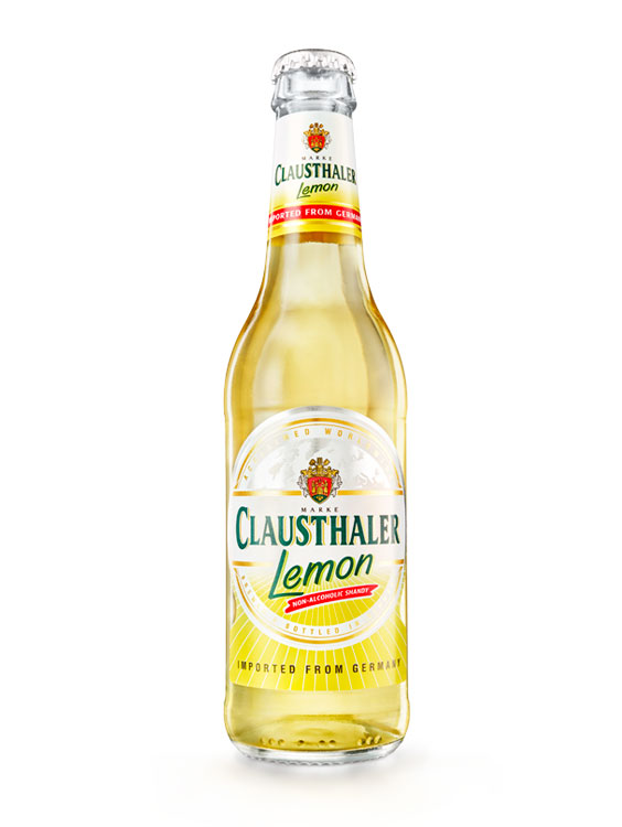 Clausthaler Lemon 0.33L X 6 bucati