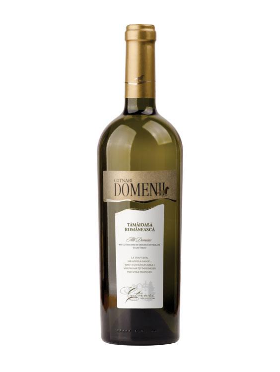Cotnari Vin Alb Domenii Tamaioasa Romaneasca 0.75L 2 STICLE + 1 GRATIS