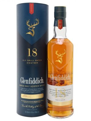 Glenfiddich 18 YO SINGLE MALT WHISKY 0.7L