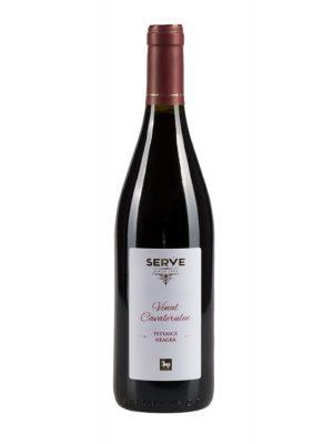 SERVE Vin Rosu Vinul Cavalerului Feteasca Neagra 0.75L