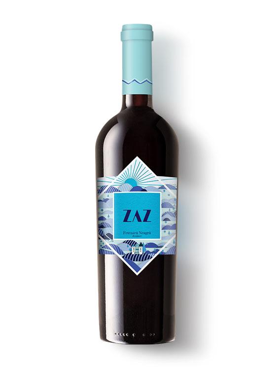 Cotnari Vin Rosu ZAZ Feteasca Neagra 2 bucati X 0.75L