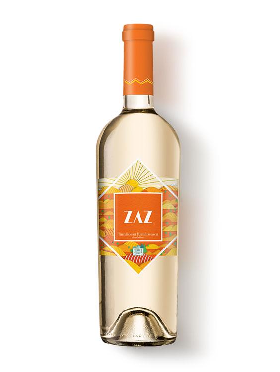 Cotnari Vin Alb ZAZ Tamaioasa Romaneasca demidulce 2 bucati X 0.75L