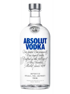 Absolut Blue Vodka 0.7L
