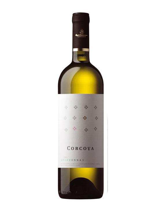 Corcova Vin Alb Chardonnay 0.75L