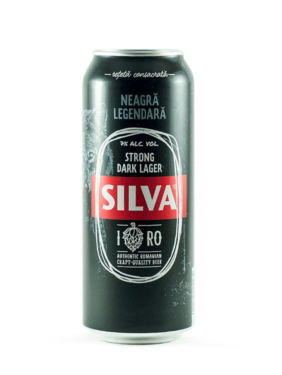 Silva Bere Dark doza 0.5L X 6 bucati