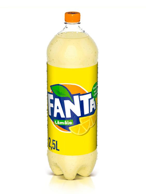 Fanta Lemon PET 6 BUCATI X 2.5L