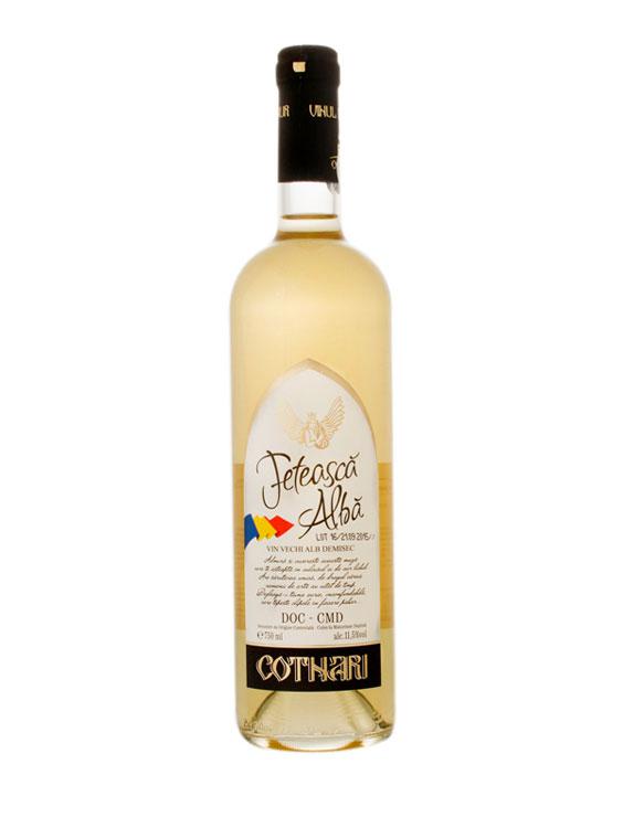 COTNARI Vin Feteasca Alba Demisec 3 bucati X 0.75L