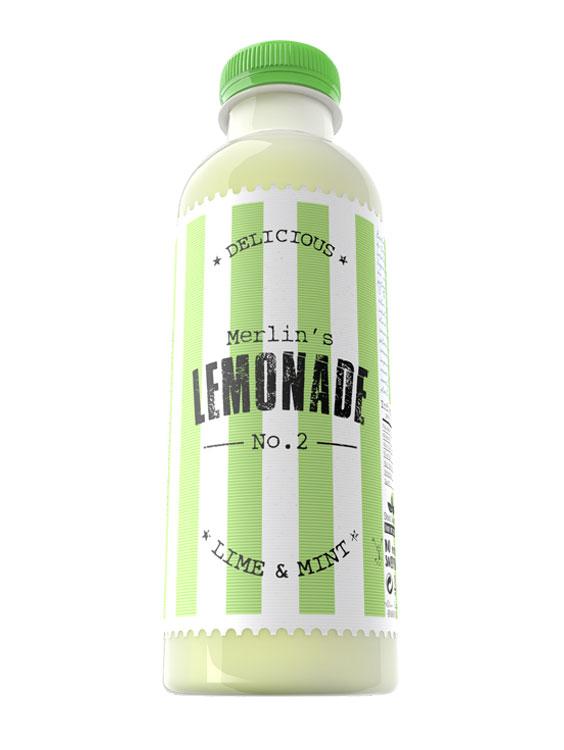 MERLIN'S Lemonade lime & mint 6 bucati X 0.6L