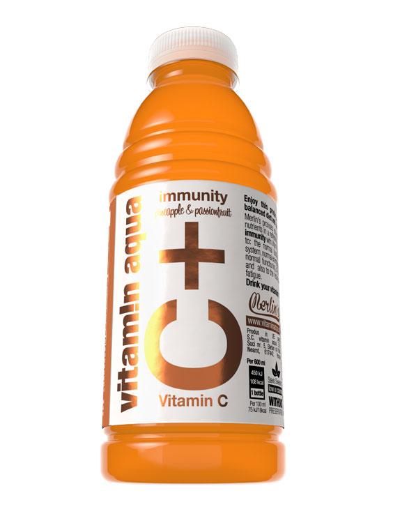 VITAMIN AQUA Vitamin C 6 bucati X 0.6L