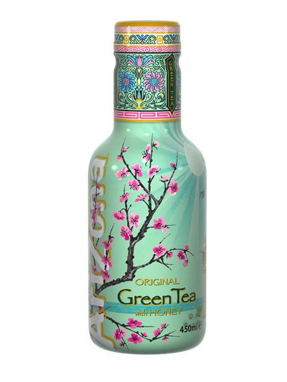 Arizona Green Tea Honey 6 bucati X 0.45L