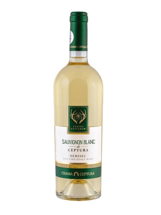 Crama Ceptura Vin Alb Cervus Cepturum Sauvignon Blanc 0.75L