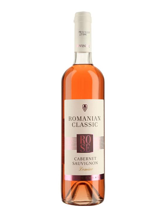 Rovinex Vin Rose Romanian Classic Cabernet Sauvignon 2 BUCATI X 0.75L