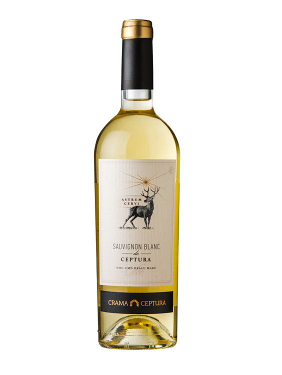 Crama Ceptura Vin Alb Astrum Cervi Sauvignon Blanc 0.75L
