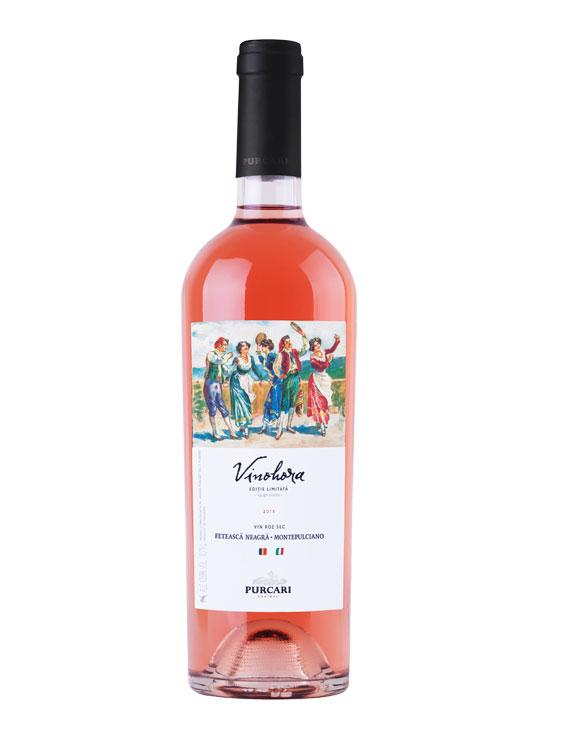 Purcari Vin Rose Vinohora Fetească Neagră & Montepulciano 0.75L