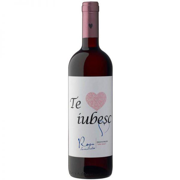 Cramele Recas Te Iubesc Vin Rosu Demidulce 2 bucati X 0.75L