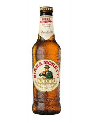 Birra Moretti bere sticla 0.33L X 6 bucati