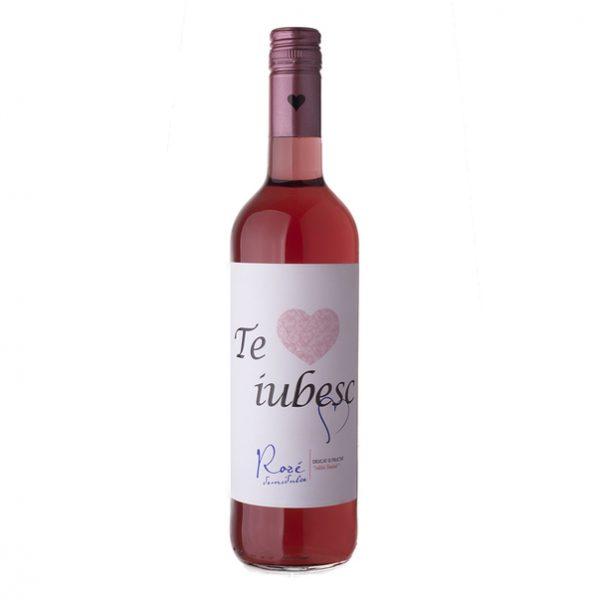 Cramele Recas Te Iubesc Vin Rose Demidulce 2 bucati X 0.75L