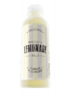 MERLIN'S Lemonade lemon & ginger 6 bucati X 0.6L