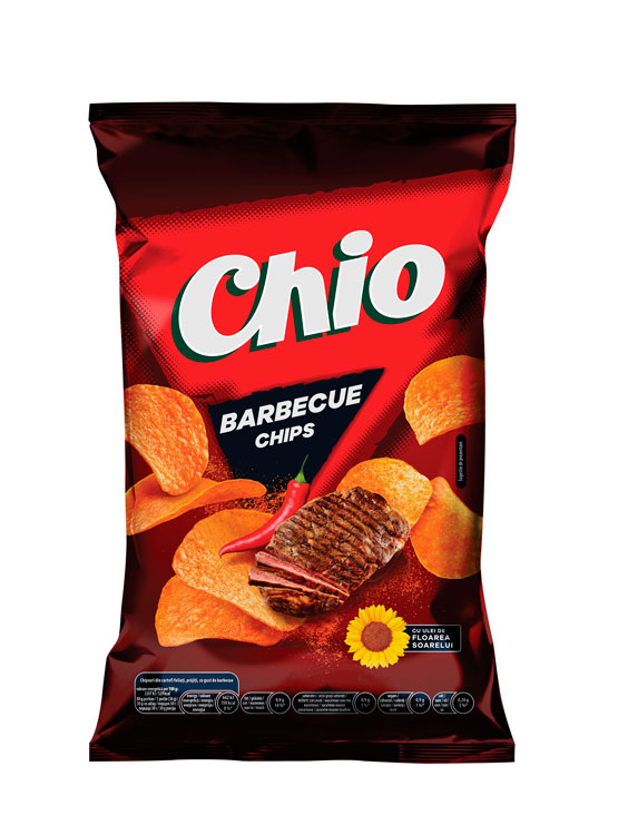 CHIO BARBEQUE 4 bucati X 140GR