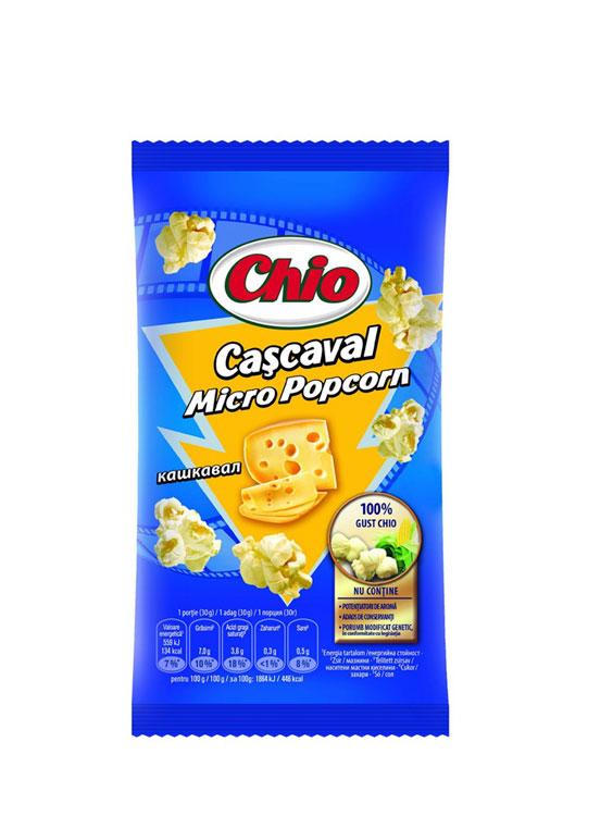 CHIO POPCORN CASCAVAL MICROUNDE 10 bucati X 80GR