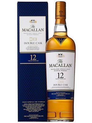 MACALLAN 12 YO DOUBLE CASK SINGLE MALT WHISKY 0.7L