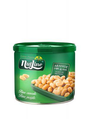 NUTLINE ARAHIDE PRAJITE SARE 4 bucati X 135GR