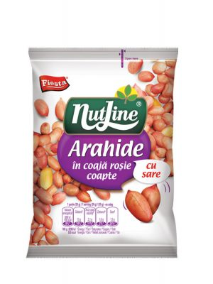 NUTLINE ARAHIDE COAJA ROSIE 4 bucati X 300GR