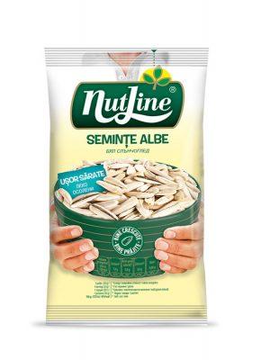 NUTLINE SEMINTE FLOAREA SOARELUI ALBE USOR SARATE 5 bucati X 100GR