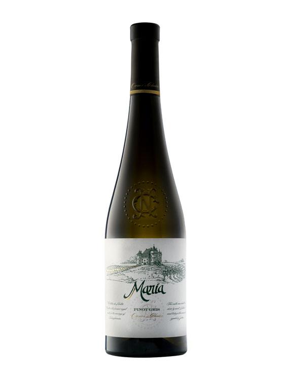 JIDVEI Vin Alb Maria Pinot Gris 0.75L