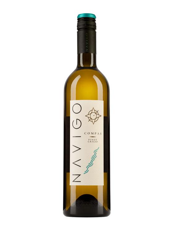 Jidvei Vin Alb Navigo Compas Pinot Grigio 0.75L