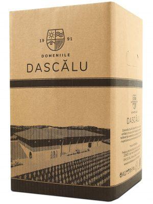 Domeniile Dascalu vin alb demisec Tamaioasa Romaneasca BIB 10 L