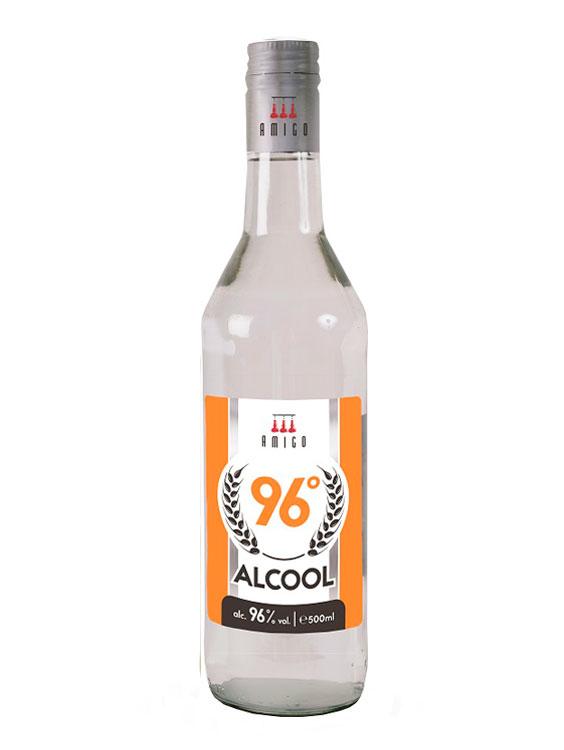 Alcool 96 Amigo 0.5L