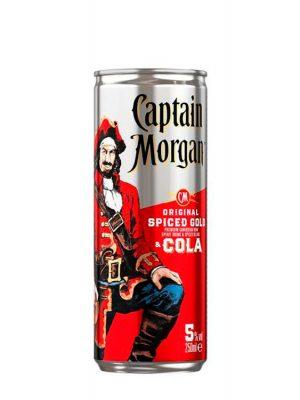 Captain Morgan Rom & Cola 4 bucati x 0.25L