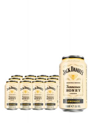 JACK DANIEL'S HONEY WHISKY & LEMONADE 4 BUCATI X 0.33L