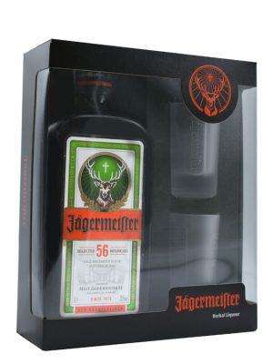 JAGERMEISTER LICHIOR 0.7L 2 GLASSES
