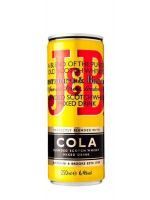 J&B WHISKY COLA 4 BUCATI X 0.25L