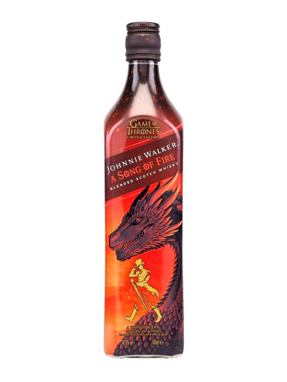 JOHNNIE WALKER WHISKY A SONG OF FIRE 0.7L