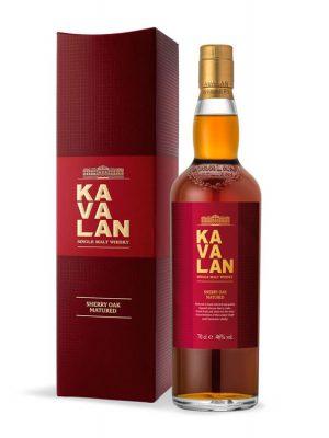 KAVALAN EX SHERRY OAK TAIWAN SINGLE MALT WHISKY 0.7L